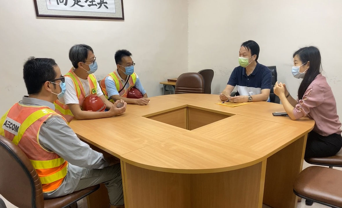 Meeting with representative of nearby secondary school on 28 Apr 2020