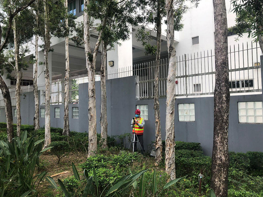 Special construction noise monitoring at nearby HKDSE Examination Centre during the examination period